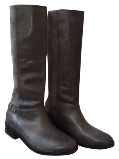 Cole Haan Riding Gray Boots