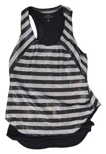 Robert Rodriguez Top Black & Gray Striped