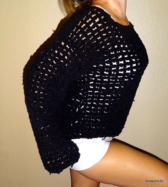 The Limited Crochet Love Style Sexy Knit Streetstyle Tan Shorts Shoechic30 Layer Sweater
