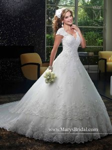 Mary's Bridal 6401 Wedding Dress