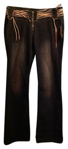 Z. Cavaricci Boot Cut Jeans-Acid