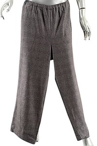Eskandar Relaxed Cashmere Relaxed Pants Charcoal, Red, Black