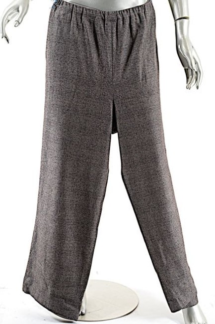 Eskandar Cashmere Relaxed Pants Charcoal, Red, Black