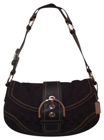 Preload https://item2.tradesy.com/images/coach-signature-logo-leather-10608-soho-black-silver-canvas-hobo-bag-12915676-0-1.jpg?width=440&height=440