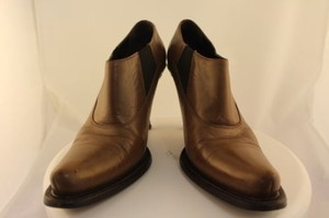 Prada Womens Ankle Brown Boots