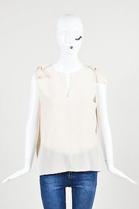 Chlo Chloe Blush Silk Top Pink
