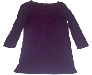 Gap 3/4 Sleeves Plum Small Top Purple