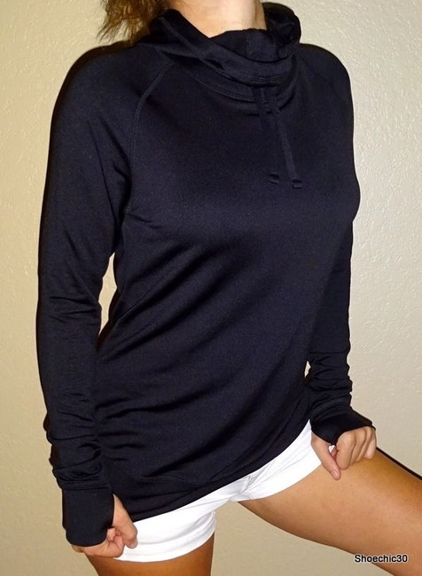 Old Navy Old Navy fitness mini hood long sleeve shirt yoga Small