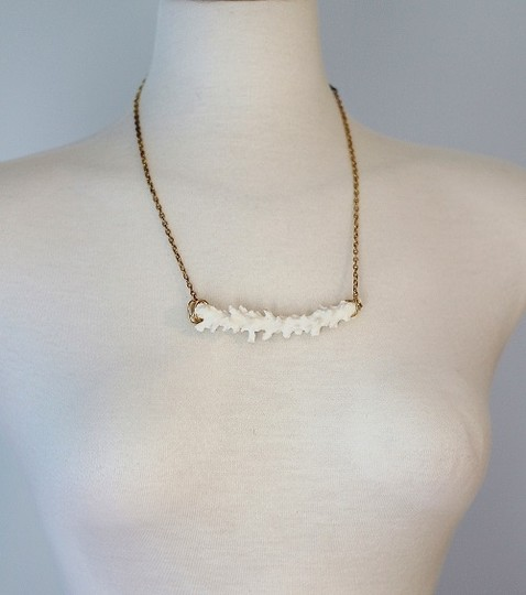 Other Boho White Coral Necklace