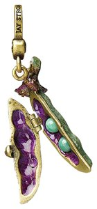Jay Strongwater jay strongwater Swarovski Crystal And Enamel ELODIE TWO PEAS CHARM