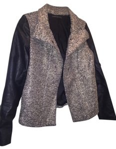 Generation Love Metallic & leather Jacket