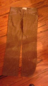 London Jean Chino Stretch Low Rise Khaki/Chino Pants Brown