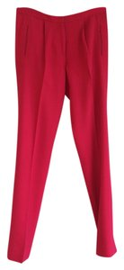 Thakoon Chic Wide Leg Pants Pink/Red