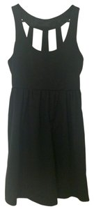 Silence + Noise short dress Black on Tradesy