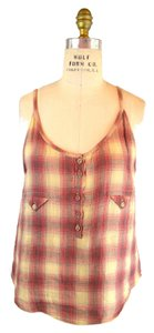 IRO Top Red Plaid
