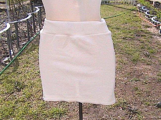 Other Summer Mini Skirt White