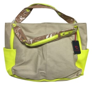 Kelsi Dagger Tote in Neon Yellow
