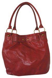 Axcess Hobo Style Gently Used Brass Hardware Leatherette Shoulder Bag