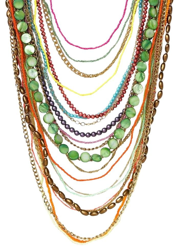 e45a81593 Other Nordstrom: Women's Beaded Multi Strand Necklace by Sequin Image 0