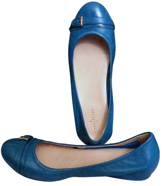 Item - Cadet Blue Nike Air Patent Leather Ballet Flats Size US 9.5 Regular (M, B)