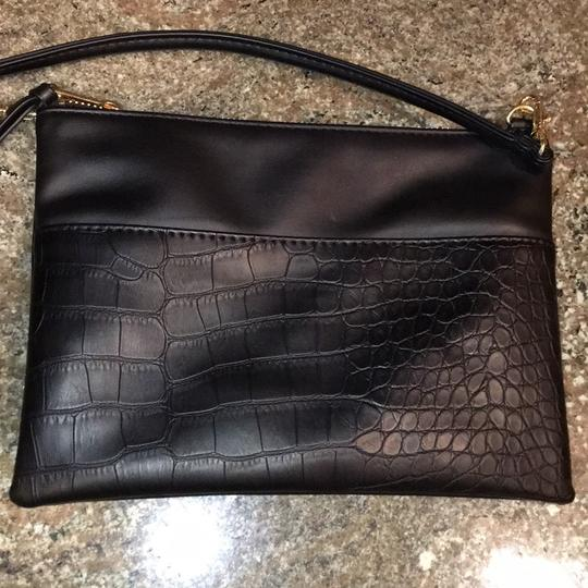 H&M Faux Leather Clutch Cross Body Bag