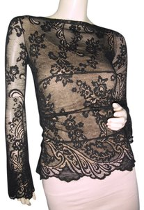 Chantilly Lace Top black