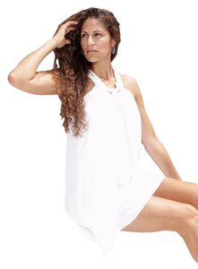 Lirome short dress White Organic Unique Resort on Tradesy