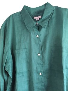 Gap Top Emerald green
