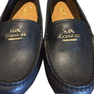 f5f0a49469a Coach Lconic Loafer Leather Pebbled Lounge Classic Black Flats. Coach Black  Opal Loafers Flats Size US 6.5 Regular (M ...