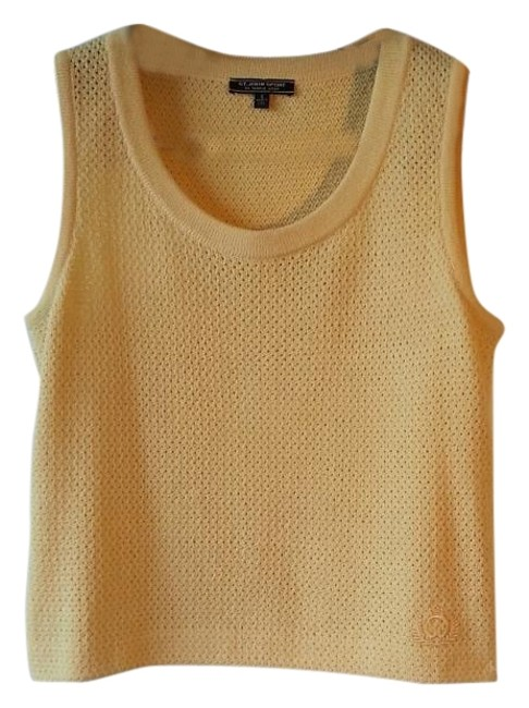 Preload https://item1.tradesy.com/images/st-john-yellow-sport-sleeveless-shell-tank-topcami-size-6-s-12921370-0-5.jpg?width=400&height=650