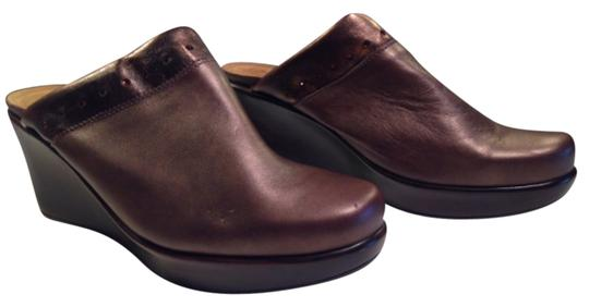Preload https://item1.tradesy.com/images/naot-copper-brown-comfortable-platform-slide-in-buttery-metallic-leather-wedges-size-us-10-regular-m-12921445-0-1.jpg?width=440&height=440