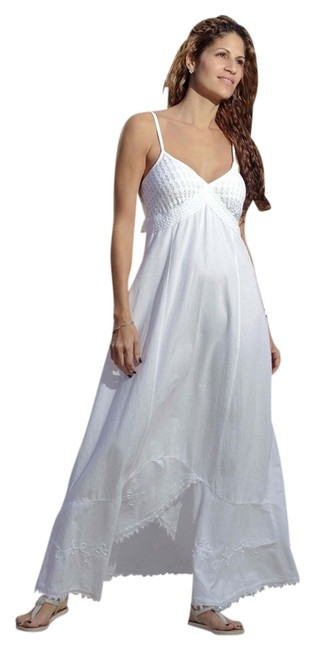 Preload https://item1.tradesy.com/images/lirome-white-organic-cotton-spaghetti-straps-joly-very-resort-long-casual-maxi-dress-size-6-s-12921625-0-5.jpg?width=400&height=650