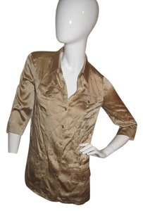 Cache Top Gold Silk