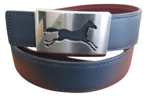 Hermès SALE!!! 32/75CM AUTH.Hermes Reversible Belt Kit Horse Buckle