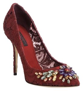 Dolce&Gabbana Dark Red Pumps