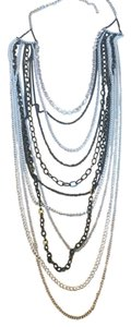Nordstrom Multi strand chain necklace