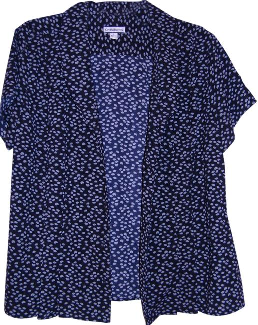 Preload https://item5.tradesy.com/images/croft-and-barrow-top-black-with-white-polka-dots-1292229-0-0.jpg?width=400&height=650