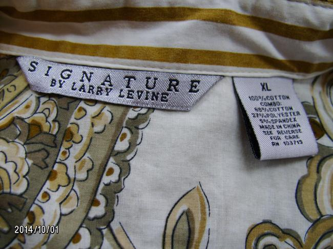 Signature by Larry Levine Top Paisley