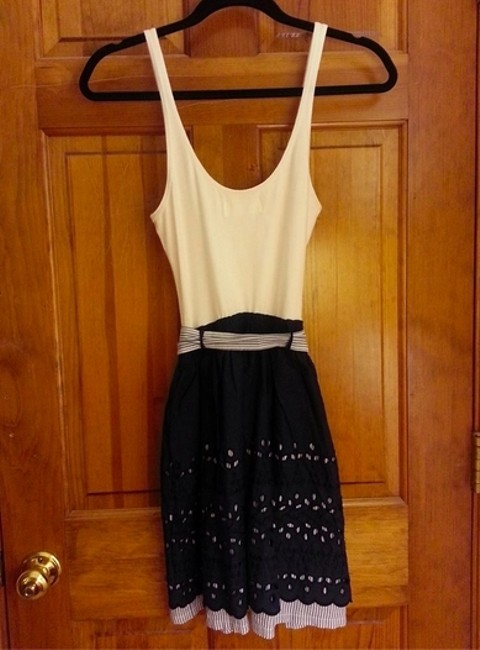 Abercrombie & Fitch short dress Belted Scalloped on Tradesy