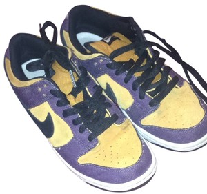 Nike Yellow And Purple Athletic