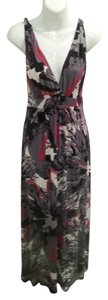 Multi-Colored Maxi Dress by Matty M