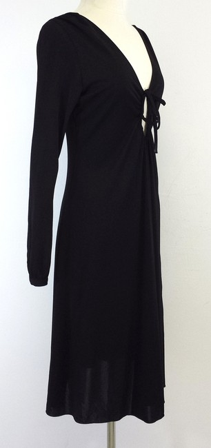 Moschino Black Long Sleeve Dress