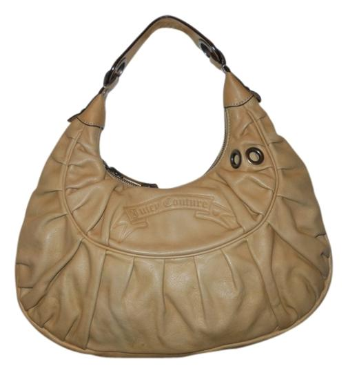 Preload https://item5.tradesy.com/images/juicy-couture-light-tan-leather-shoulder-bag-12924199-0-1.jpg?width=440&height=440