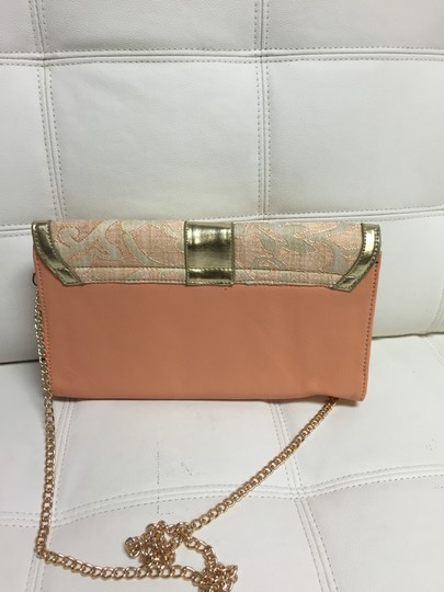 Nila Anthony Peach Clutch