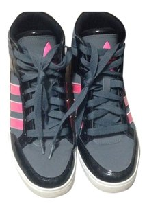 Adidas Gray, Black, And Pink Athletic
