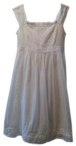 Jill Stuart short dress White Lace Cotton Beach on Tradesy