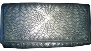 Cole Haan Gunmetal Clutch