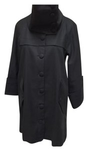 French Connection Drawstring Hem Trench Coat Size 0 Trench Coat