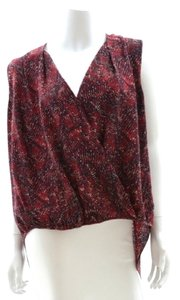 Rachel Zoe New Red Maroon Top Claret, Red