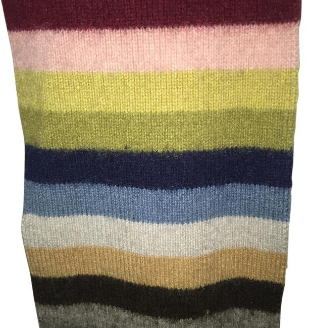 Item - Multi Colored Striped Scarf/Wrap